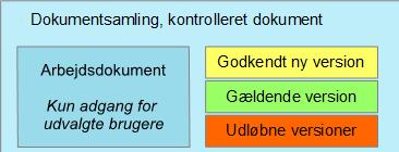 Versionsstyring, kontrolleret dokument